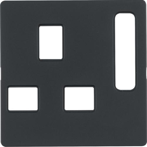 3313076086 Панель до розетки UK-стандарту з вимикачем Q.х антрацит 4772eefd987ec